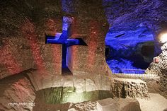 Salt cathedral, Zipaquira, Colombia Places To Travel, Places To Visit, Colombian Culture, British Overseas Territories, Old Rugged Cross, Colombia Travel, Old Churches, South America Travel, Place Of Worship