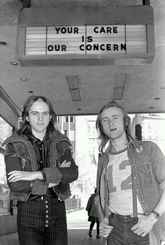 Genesis: Peter Gabriel & Phil Collins, rocking the 70s, hard. (I feel like I should tag Peter Gabriel's pants somehow….)