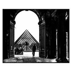 Carol Julien | Instagram | #Paris on my mind (2013) @museelouvre #louvre #photography #streetphotography #blackandwhitephotography