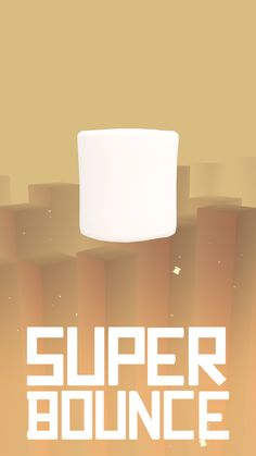 Marshmallow character   Super Bounce  #gamedev #unity #games