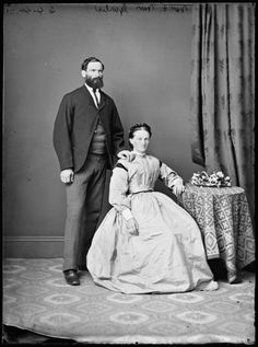 Mr. and Mrs. Garlic c. 1870-75  State Library of New South Wales