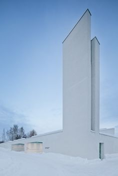 Chapel of St. Lawrence in Vantaa, Finland by Avanto Architects