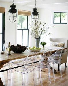 Clear Plastic Chairs - Foter