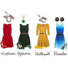 """""""girls of Hogwarts"""" by alonso-alonsyy on Polyvore"""