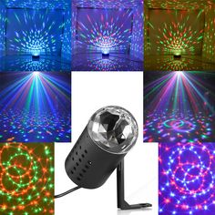 Mini Projector DJ Disco Light Stage R&G Party Laser Lighting Show Plug Black in Musical Instruments & Gear, Stage Lighting & Effects, Stage Lighting: Single Units 70s Party, Disco Party, Disco Theme, Dj Disco, Glow Party, Disco 70s, Dance Party Birthday, Neon Birthday, 13th Birthday Parties