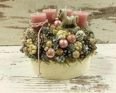 Christmas Advent Wreath, Xmas Wreaths, Winter Christmas, Christmas Crafts, Holiday, Christmas Centerpieces, Christmas Decorations, Advent Box, Flower Boxes