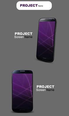 Mobile Application Presentation Mockup