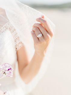 Jewelry: Susie Saltzman - http://www.susiesaltzman.com http://www.stylemepretty.com/portfolio/susie-saltzman-fine-jewelry Photography: Tenth & Grace - www.tenthandgrace.com   Read More on SMP: http://www.stylemepretty.com/2016/05/12/sand-dunes-wedding-inspiration/