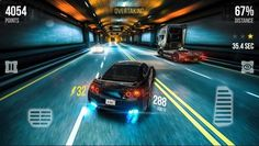 Win in the race and become the best racer of the city