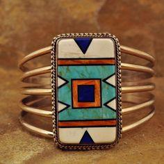 Sterling Santa Fe Bracelet