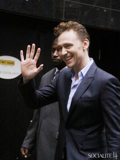 November 01, 2013: Tom Hiddleston at 'Good Morning America' to talk his new movie 'Thor: The Dark World' in New York City.