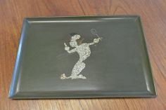 Vintage Mid Century Couroc Serving Tray with by TheModernVault, $29.00