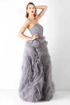 A ballgown in its truest sense