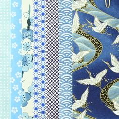 set origami bleu Origami, Quilts, Blanket, Quilt Sets, Origami Paper, Blankets, Log Cabin Quilts, Cover, Comforters