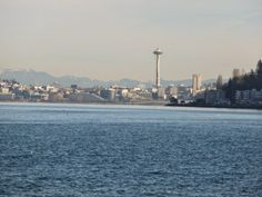 The Space Needle from Alki Beach
