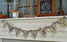 Kid Friendly Halloween Decoration! - All Things Heart and Home