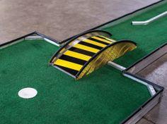 aluminum bridge portable mini putt putt golf manufacturer obstacles 2