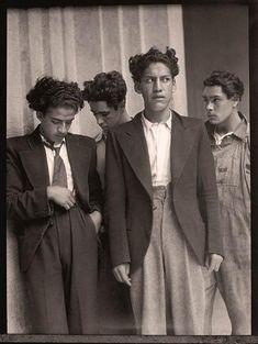 Playboys, Mexico City, ca. 1935.