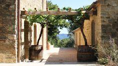 A beautifully restored farmhouse in Tuscany