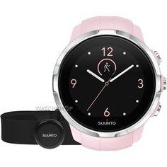 Unisex Suunto Spartan Racer Bluetooth Sakura HR bundle Alarm Chronograph Watch SS022673000