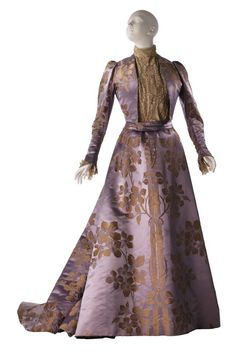 ~Worth afternoon dress, 1896~