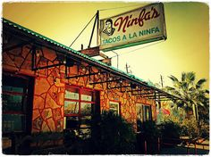 The original NINFA'S Mexican Restaurant on Navigation street Houston......now a Houston icon that grew into a chain of restaurants.