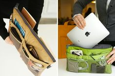 Slim Bag-in-Bag ($29): Ever wish you had more pockets? This bag-in-bag has 13 of 'em! Made of protective padding that's lighter to carry than an iPhone, it fits the definition of travel made easy.
