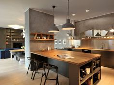 Image result for breakfast bar with storage