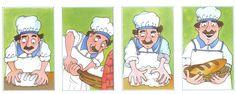 logische volgorde bakker, free printable