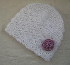 baby cloche hat #crochet #handmade #hat #baby
