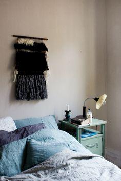 Nanna van Berlekom room    Une chambre bohème au charme vintage