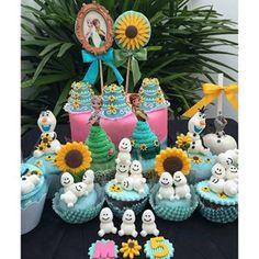 doces decorados frozen fever - Pesquisa Google
