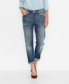 Levi's 501® Jeans for Women - Vintage Indigo - Boyfriend