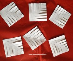 1 million+ Stunning Free Images to Use Anywhere 3d Paper Snowflakes, Snowflake Craft, Stars Craft, Christmas Origami, Diy Christmas Tree, Simple Christmas, Diy Craft Projects, Diy Crafts, Snow Flakes Diy