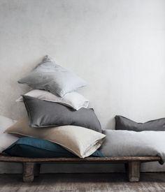 Pudebetræk i hør | Beige | Home | H&M DK