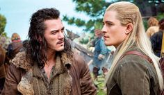 Actor Orlando Bloom reprises his Lord of the Rings role of the Elven archer Legolas for The Hobbit: The Desolation of Smaug. The actor carved out a few moments on set to chat with the visiting press about returning to the role that made him famous.