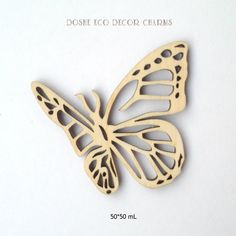Flying laser cut Butterflies / Butterfly wings / Wood charms / Wood butterfly / Wedding decor / Laser cut wood / Wood embellishments / Decor by DosheEcoDecorCharms on Etsy