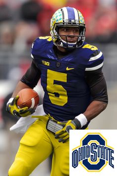 3fa9c20d5 College football uniform mashups U Of M Football