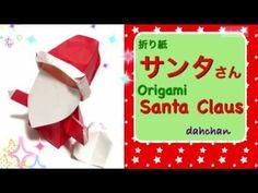Origami Santa Claus, Christmas Origami, Jingle Bells, Diy And Crafts, Xmas, Paper, Cards, Stars, Christmas