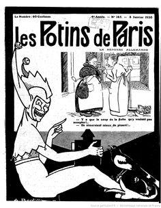 Les Potins de Paris : politiques, financiers, théâtraux : revue satirique