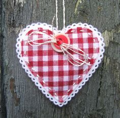 Valentine Heart Love Token by Plowmen's Clocks on Folksy