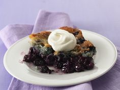 Country Blueberry Dessert, so fresh tasting!  Easy to make and was a huge crowd pleaser... Made several times.