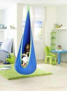 cuddle swing (recommended for autistic children or for children needing sensory integration and vestibular input)