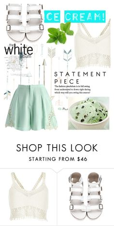"""""""Mint 2"""" by mary-thor ❤ liked on Polyvore featuring interior, interiors, interior design, home, home decor, interior decorating, River Island, Chicwish and icecreamtreats"""