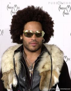 Lenny Kravitz. Without a doubt the coolest man on the planet. If you lack coolness...he probably stole yours.