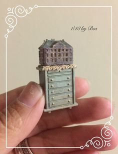 1/48 lavander dollshouse for dollshouse and por LeMiniaturediBea