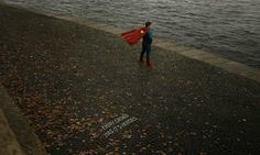 Among Us: Superheroes in Everyday Street Scenes by Kirill Varnaev #inspiration #photography