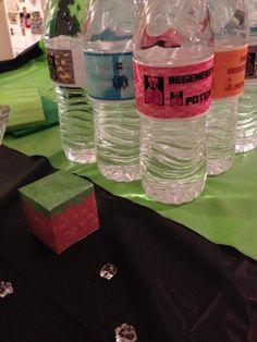 Minecraft Party Potion DIY PDF Drink by MinecraftPartySolved, $4.50