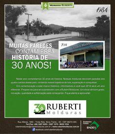 Ruberti Molduras :: 30 Anos de História