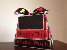 Disney Countdown Set by HillaryStarbird on Etsy, $25.00